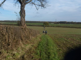 Slightly less near the start Princes Risborough to Great Missenden