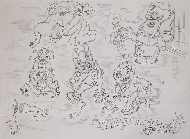 Joe Roy Metheny - Drawing 2