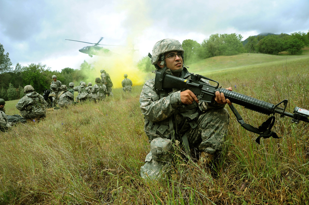 Army training | Soldiers and airmen participate in exercises