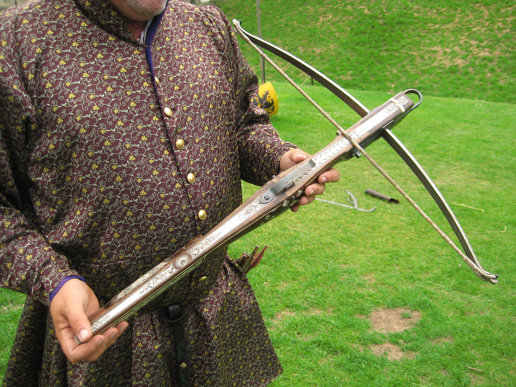 Authentic Medieval Crossbow | Warwick Castle, Great Britain