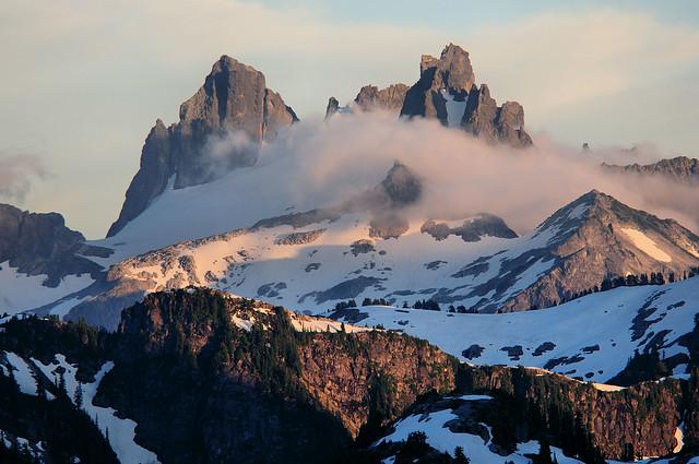 Chimney Rocks and Overcoat Peak