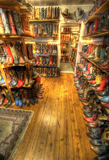 Inside the Wild West Store