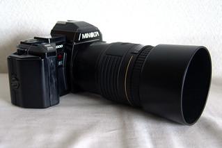 MINOLTA α-7000 (1985) + SIGMA extender