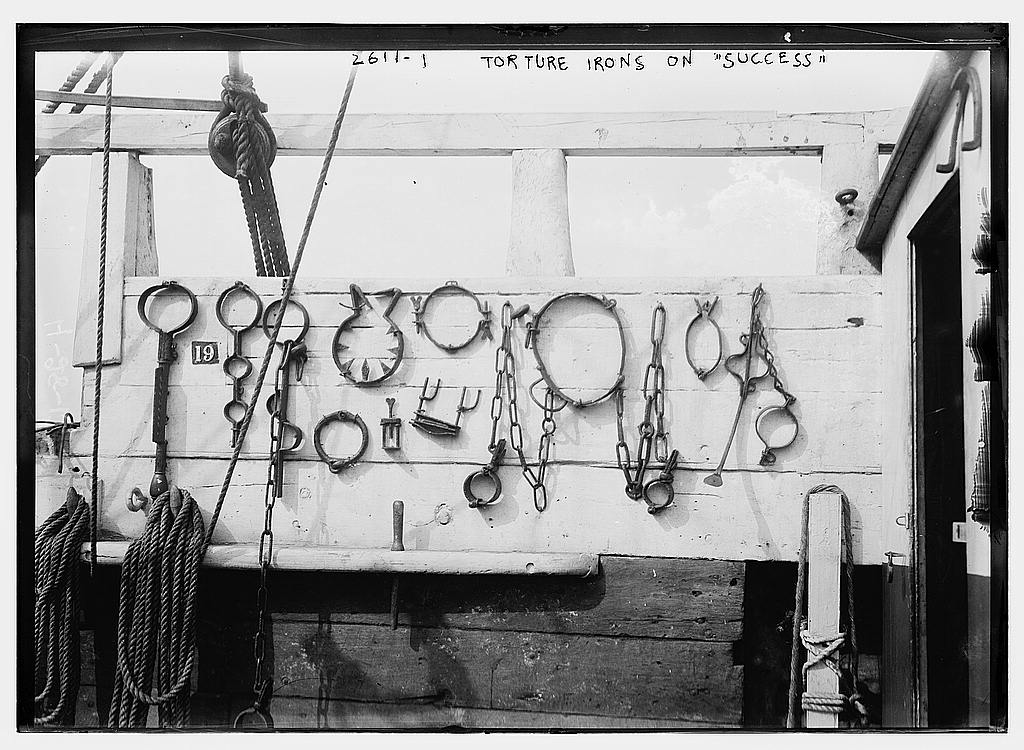 Torture irons on SUCCESS  (LOC)