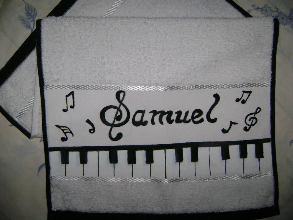 Toalhinha Teclado Musical Day E Fe Flickr