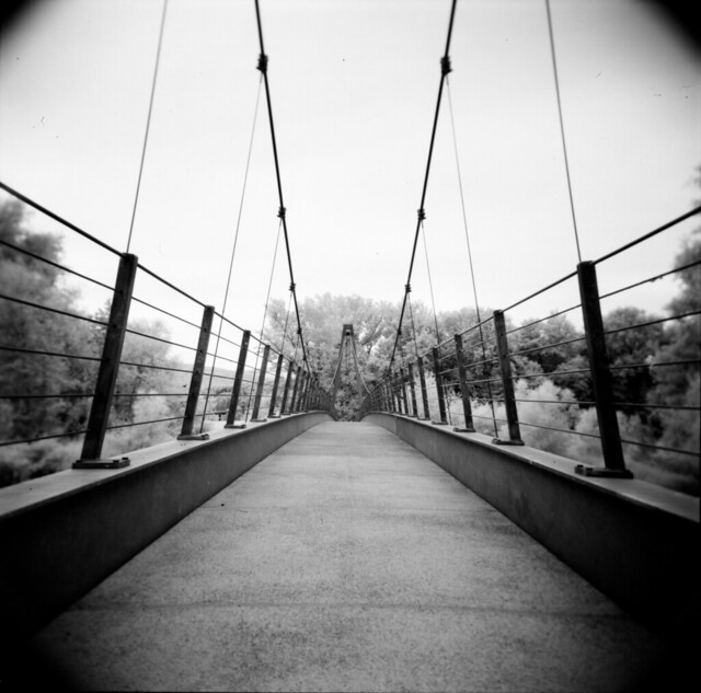 Bridge - Holga Infrared