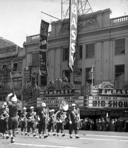 San Francisco, CA Embassy Theater in 1947 | by army.arch