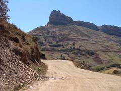 La Corona del Inca on Chavinillo to Huánuco road