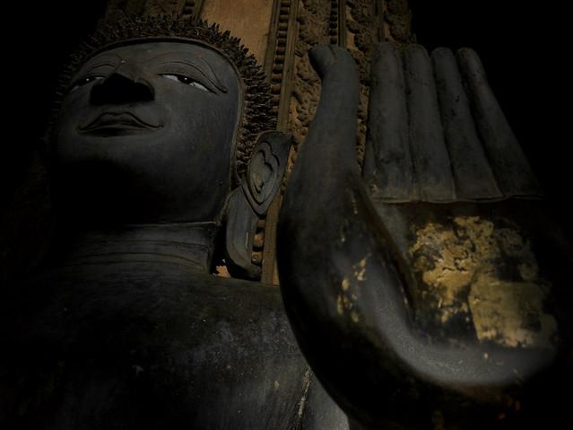 High-spirited Buddha of Ho Phra Keo