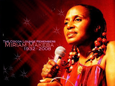 The Cocoa Lounge Remembers: Miriam Makeba | by The Cocoa Lounge