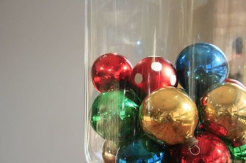 vintage ornaments, 15 for $1.60