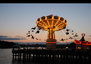 We swing by night! Gröna Lund, Stockholm / Sweden | by ANJCI ALL OVER