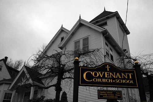 Covenant Church and School by Rachel Ford James