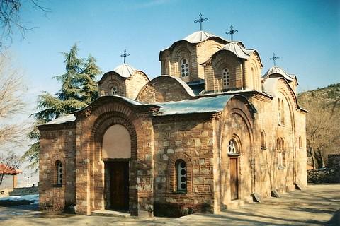 Skopje (Скопје) [Gorno Nerezi (Горно Нерези)] - St Pantelejmon Monastery (Манастир Пантелејмон)