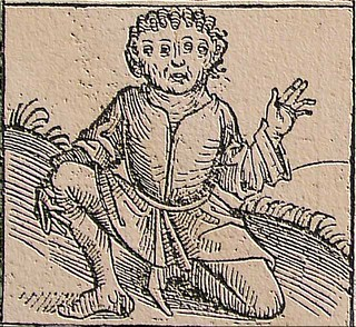 Nuremberg Chronicle, Strange People, Four Eyes, 1493 | by carulmare