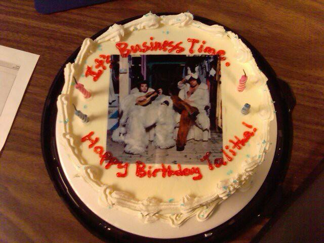Talithas Birthday Cake