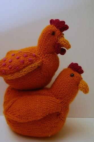 Piggyback chickens