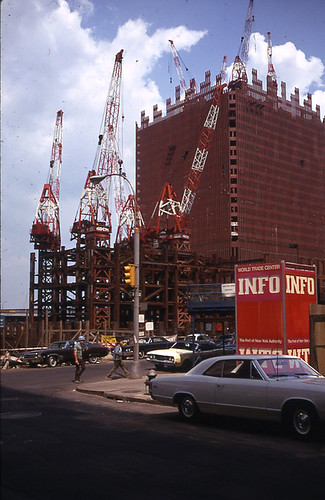 September 1969 WTC Construction