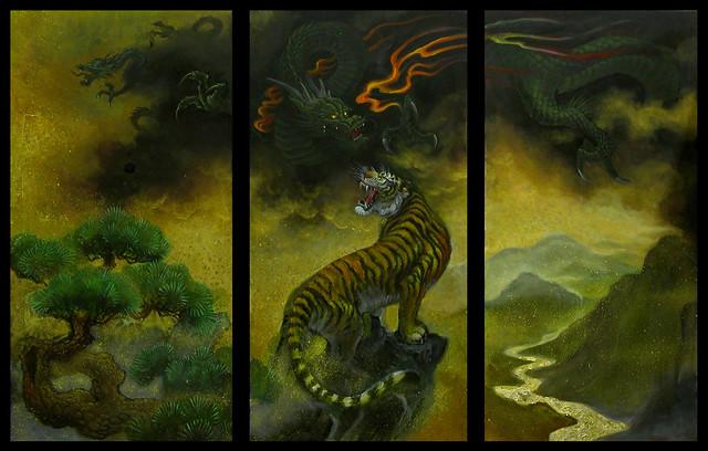 7de7b5cdd chris garver- tiger & dragon | Produce | Flickr