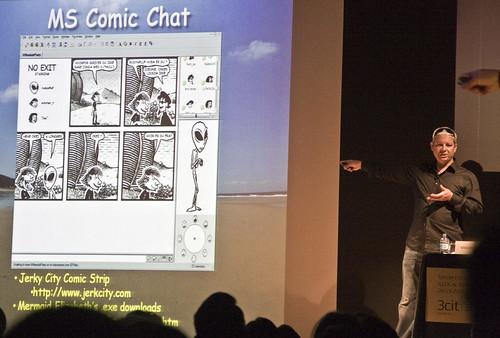 """Vincent Connare, """"I hate Comic Sans!"""""""