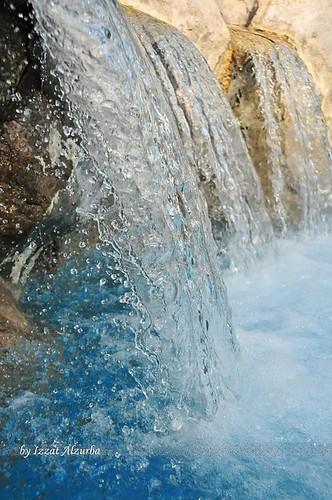 Waterfall at Ritz Hotel, Bahrain | by ALZURBA, E
