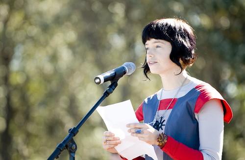 Poet Ivy Ireland