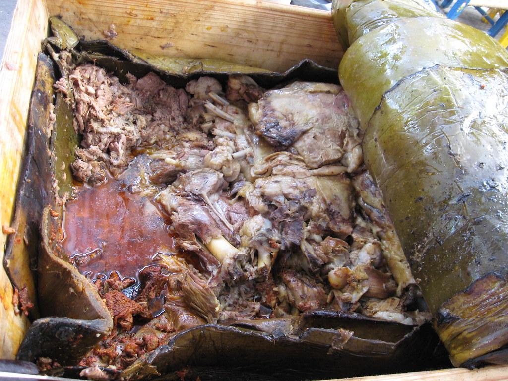 Barbacoa De Borrego Cuando Sacan La Barbacoa Del Horno El Flickr