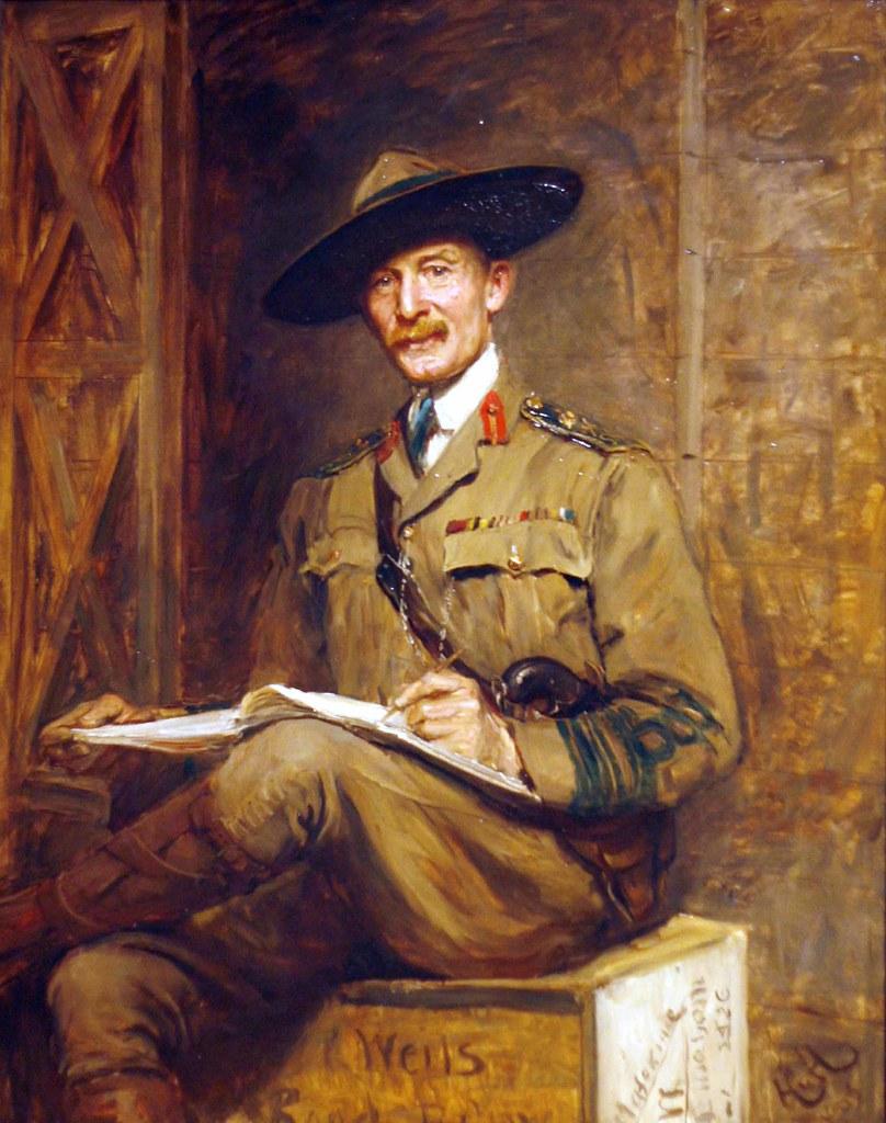 Sir Hubert Von Herkomer 1849 1914 1st Baron Robert Baden
