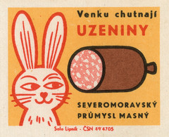 czechoslovakian matchbox label | by maraid