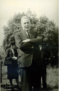 Ben Chifley, Prime Ministers' Corridor of Oaks, Faulconbridge, 6 Dec 1947.