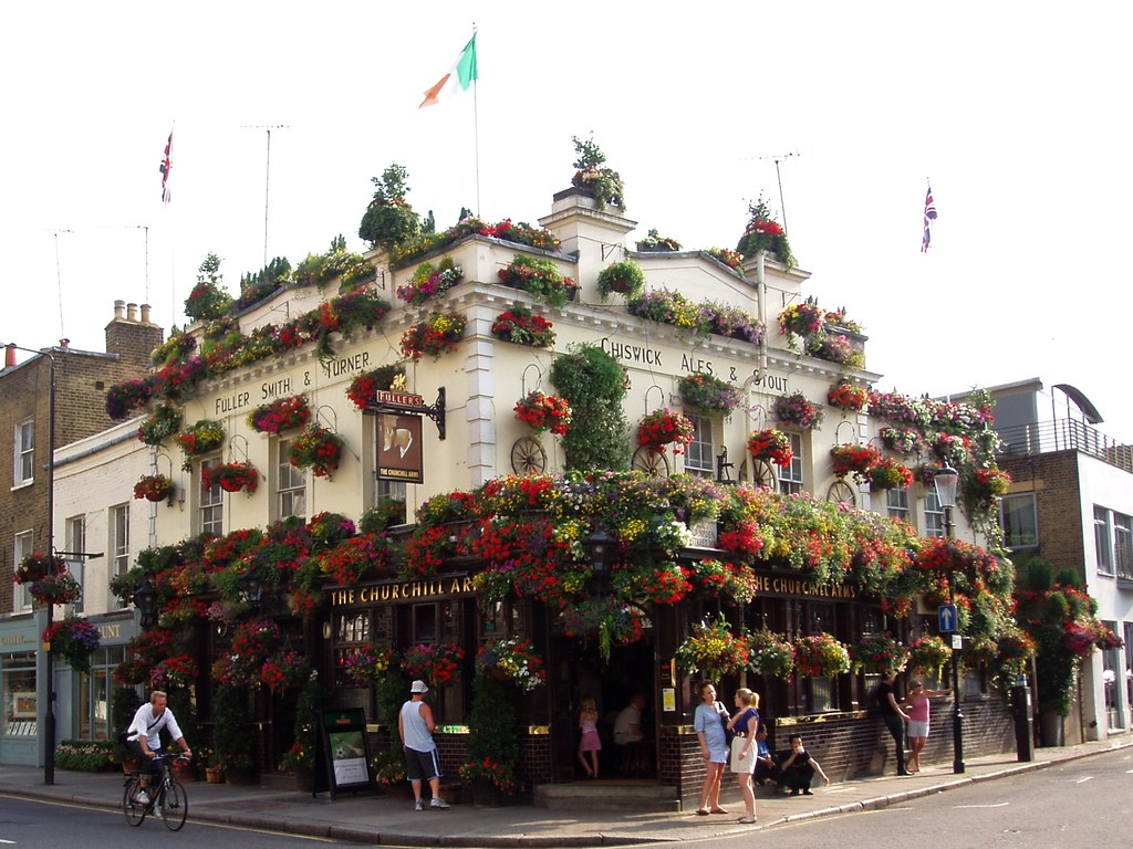 Image result for churchill arms england