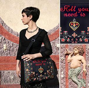 All You Need - messenger bag. | by babastudio_prague