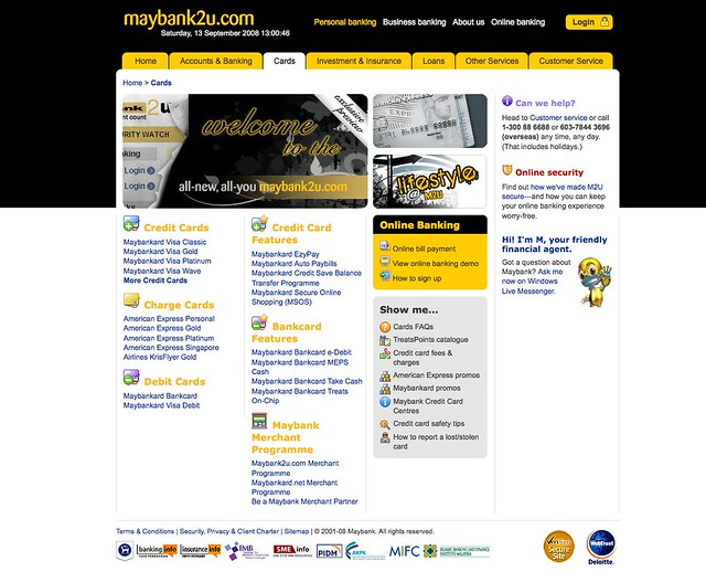 maybank2u 2 0 services | www liewcf com/blog/archives/2008/0… | Flickr