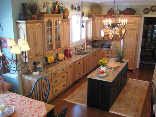 Comfortable Kitchen in Pawleys Island | by DesignFolly.com