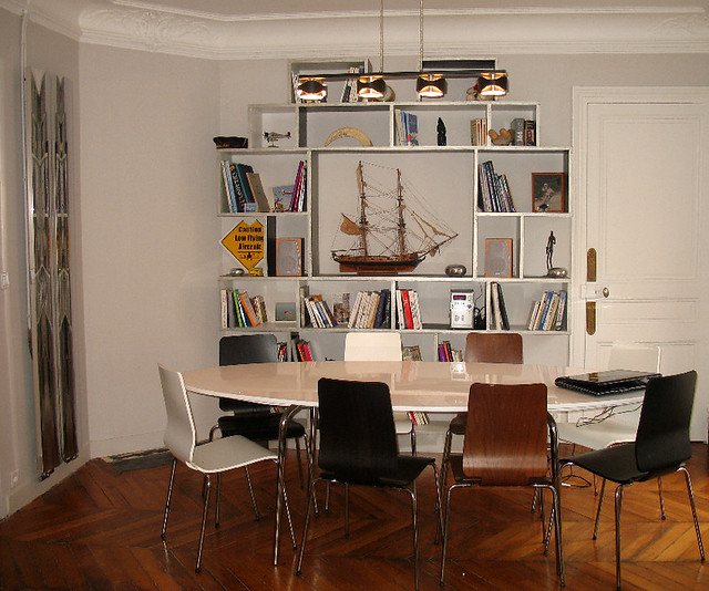Salle A Manger Tables Et Chaises Ikea Bibliotheque Realis Flickr
