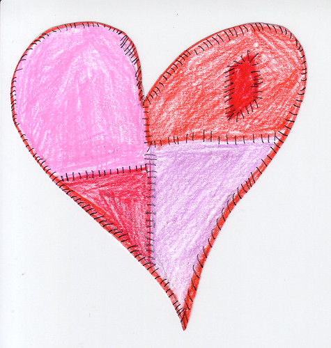 Coloured Pencil Heart | by {innocent eyes}