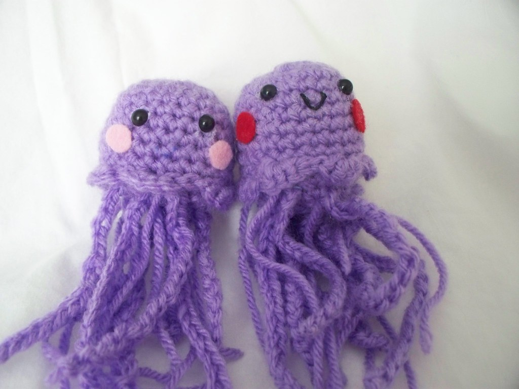 Amigurumi Jellyfish Crochet Free Pattern&Video - #Amigurumi ... | 768x1024