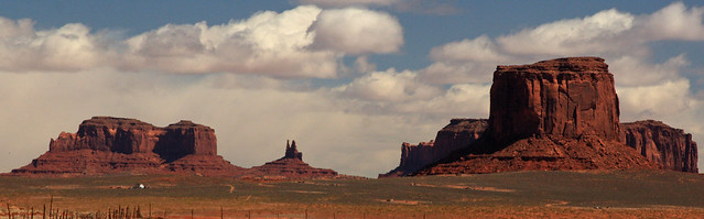 Approaching Monument Valley from Kayenta