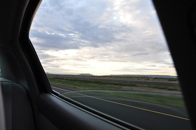 New Mexico on a rainy morning.