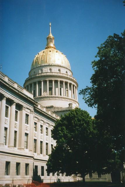 West Virginia State Capitol ~ Charleston West Virginia ~  Historical Building