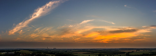 sunset summer england sky panorama clouds landscape evening unitedkingdom pano sony gb oxfordshire lightroom stiching wittenhamclumps southoxfordshire didcotpowerstation littlewittenham a99 sonyalpha andyhough slta99v andyhoughphotography