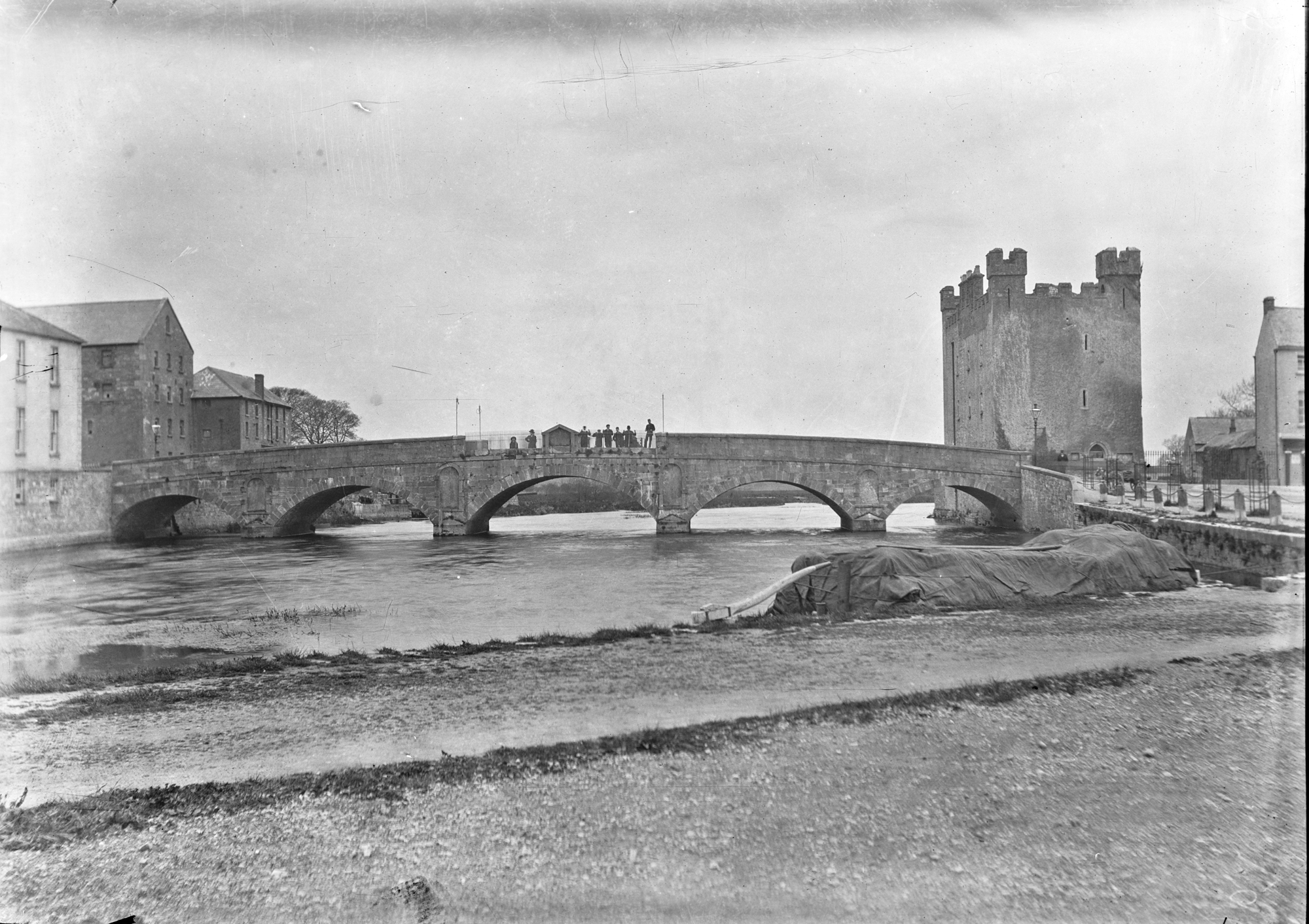 Bridge and Stronghold - The following plates are not lettered and therefore not authentic, Athy, Co. Kerry