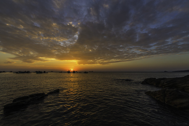 Sunset at Phú Quốc