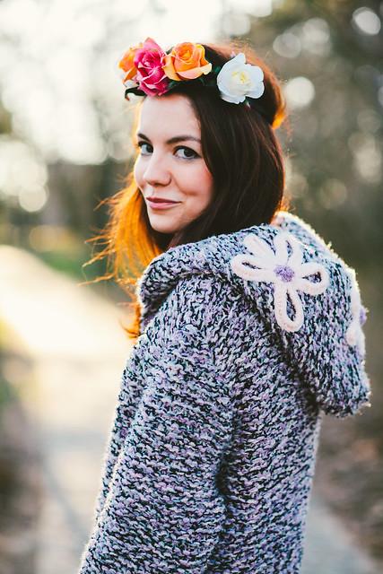 Kika and sweater (Handmade by Arin)