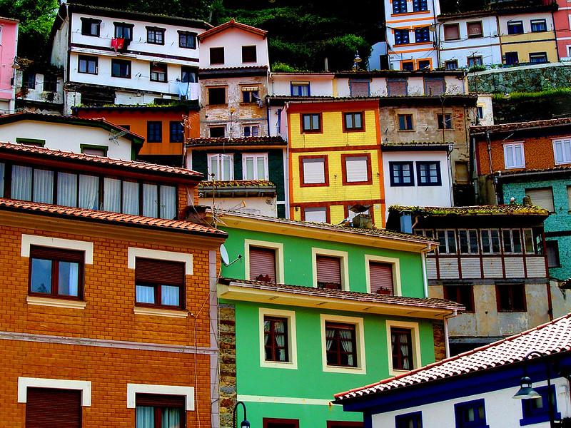 Casas en Cudillero // Houses of Cudillero