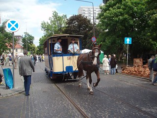 Horse driven tram | by Monika Kostera (urbanlegend)