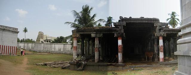 Discarded Mandapam