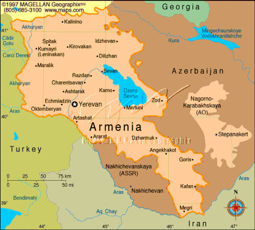 Map of Armenia | Lea_from_Armenia | Flickr