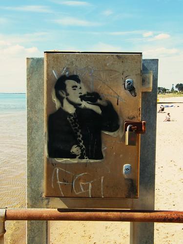 Banksy in Frankston!!   by geyergus