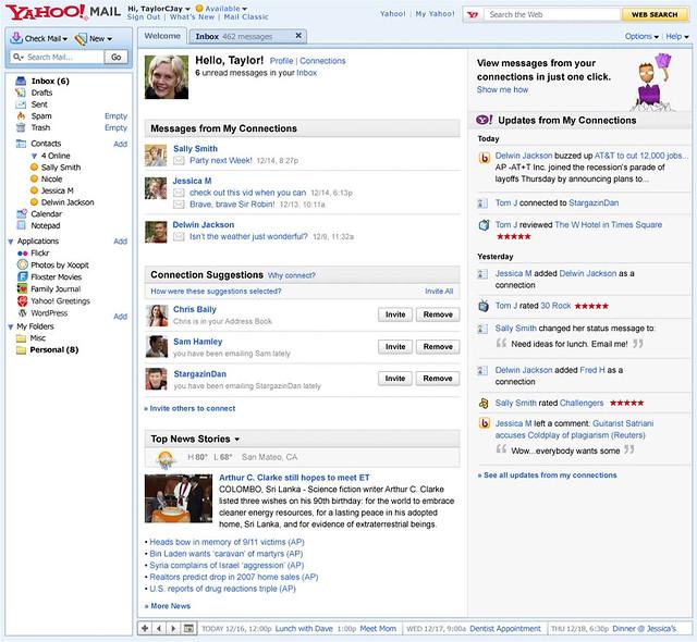 ... Yahoo! Mail's new \